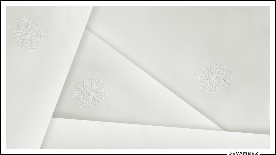 papier à lettre de luxe