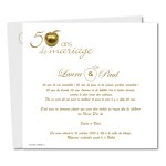 papier à lettre 50 ans de mariage