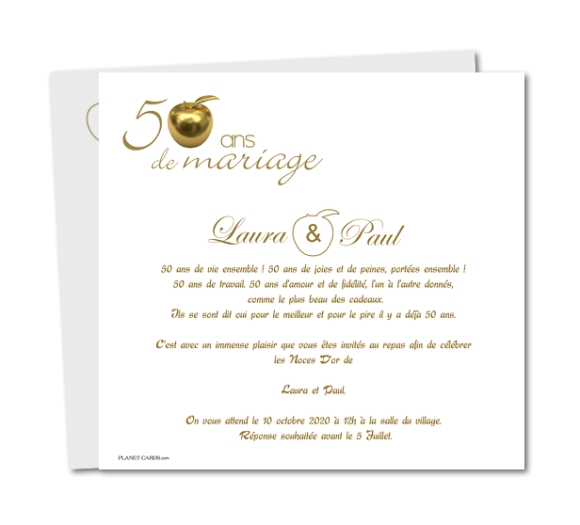modele lettre 50 ans mariage document online. Black Bedroom Furniture Sets. Home Design Ideas