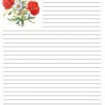 papier à lettre imprimer gratuitement