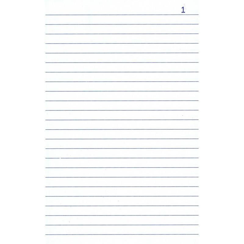 papier à lettre lignee