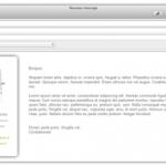 papier à lettre html