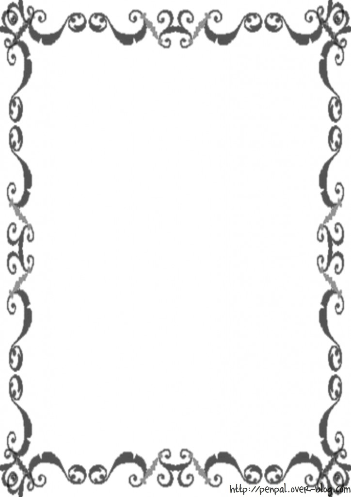 Dessin Decoration Lettre