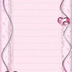 papier à lettre mariage imprimer