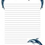 papier à lettre monster high