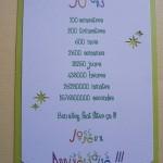 papier à lettre anniversaire 50 ans