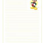 Papier lettre disney a imprimer - Lettre disney ...