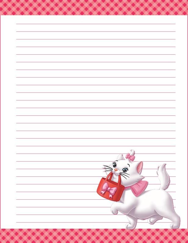 papier  u00e0 lettre disney a imprimer