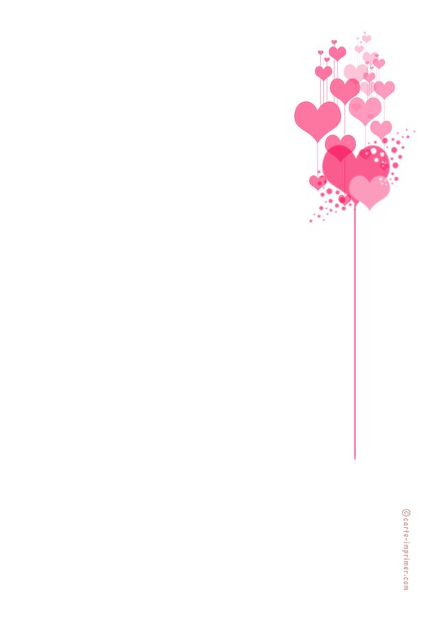 Papier lettre gratuit t l charger - Image st valentin a telecharger gratuitement ...