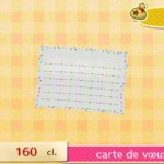 papier à lettre animal crossing