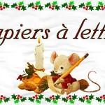 papier à lettre bonne année