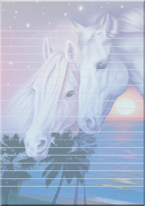exemple papier  u00e0 lettre cheval