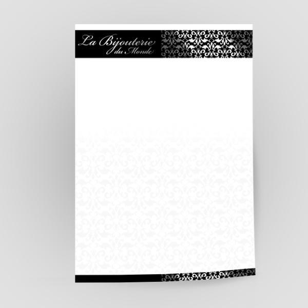 papier à lettre haut de gamme
