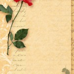 papier à lettre remerciement