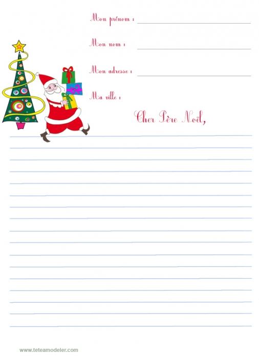 papier à lettre st nicolas