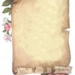 papier à lettre vintage à imprimer