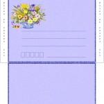 papier à lettre enveloppe