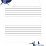 papier à lettre exemple