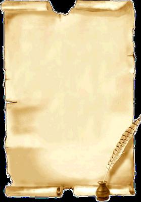 papier à lettre imprimer gratuit parchemin