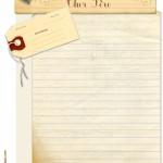 papier à lettre ancien
