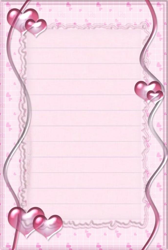 Photo papier lettre coeur imprimer gratuitement - Coeur a imprimer gratuitement ...
