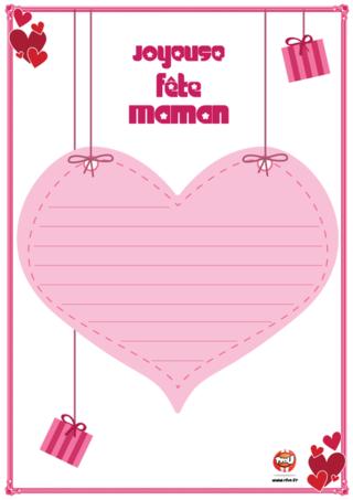Mod le papier lettre coeur imprimer gratuitement - Telecharger tfou gratuitement ...