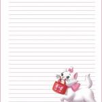 papier à lettre hello kitty imprimer gratuitement
