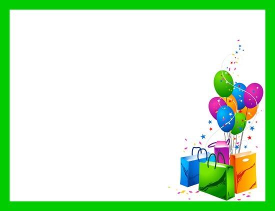 gabarit papier  u00e0 lettre joyeux anniversaire