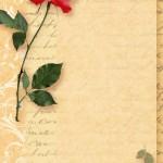 papier à lettre rose