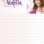 papier à lettre à imprimer violetta