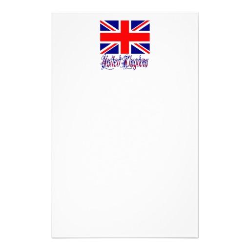 papier à lettre anglais