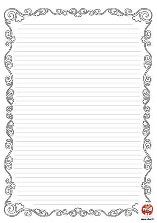 Image papier lettre imprimer fille - Telecharger tfou gratuitement ...