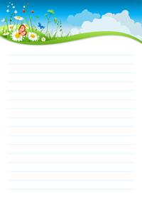 Joli Papier A Lettre A Imprimer Gratuitement Avec Ligne