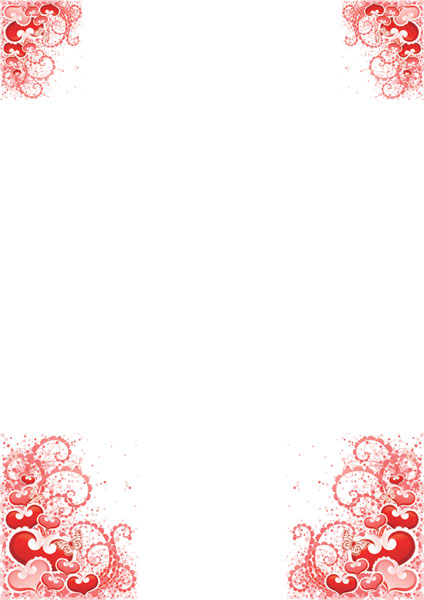 exemple papier à lettre d'amour