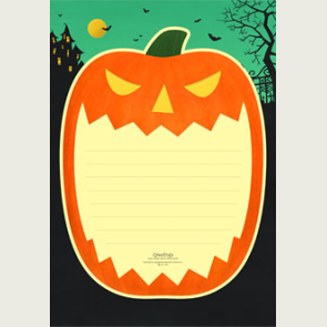 papier à lettre halloween