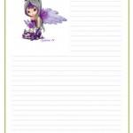 papier à lettre yolande