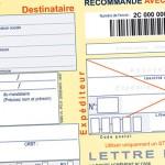 papier à lettre recommandé