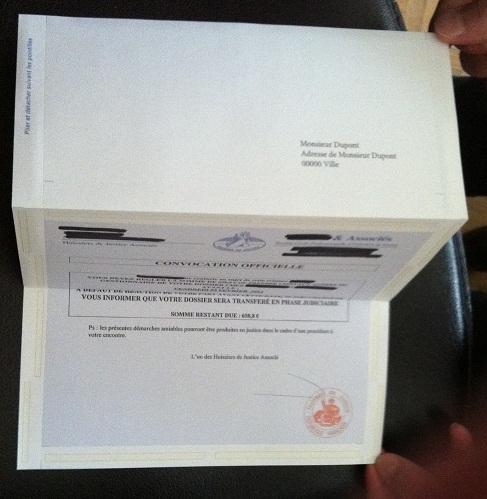 Exemple Papier A Lettre Recommande