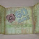 papier à lettre anniversaire 60 ans