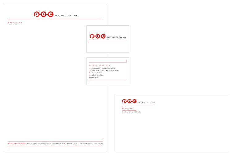 papier à lettre design