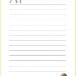 papier à lettre garcon