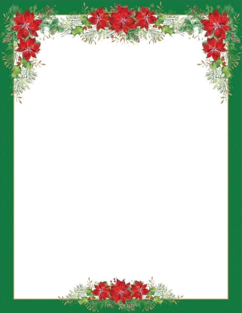 papier à lettre jour de l'an